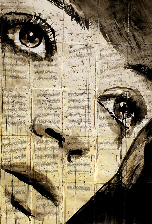 Loui Jover. Ink Drawings
