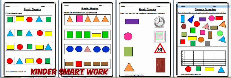 KINDER SMART WORK : FUN WITH SHAPES
