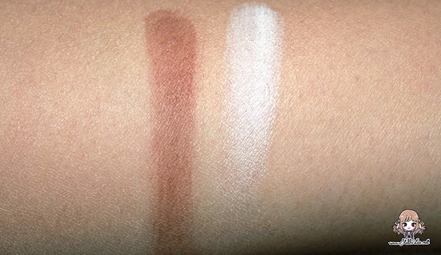 NYX Highlight & Contour Powder swatch