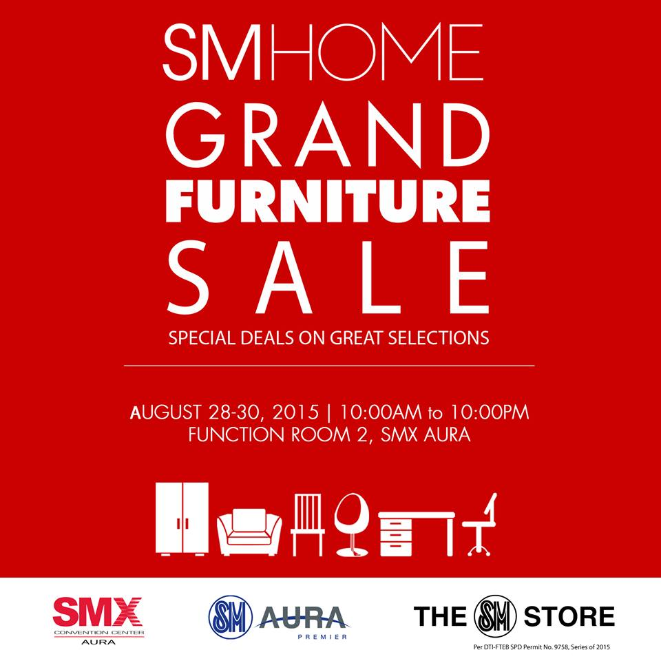 Manila Shopper Sm Home Grand Furniture Sale At Smx Aura
