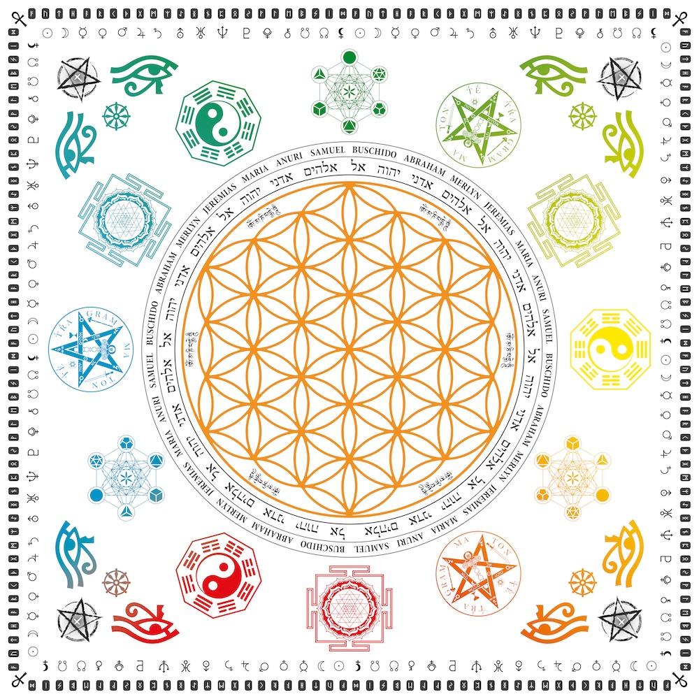 Symbole in der Magie | Weisse Magie und Voodoo / Magierin Damona