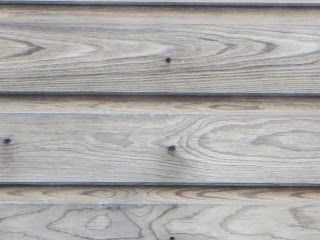 woodgrain on the shed