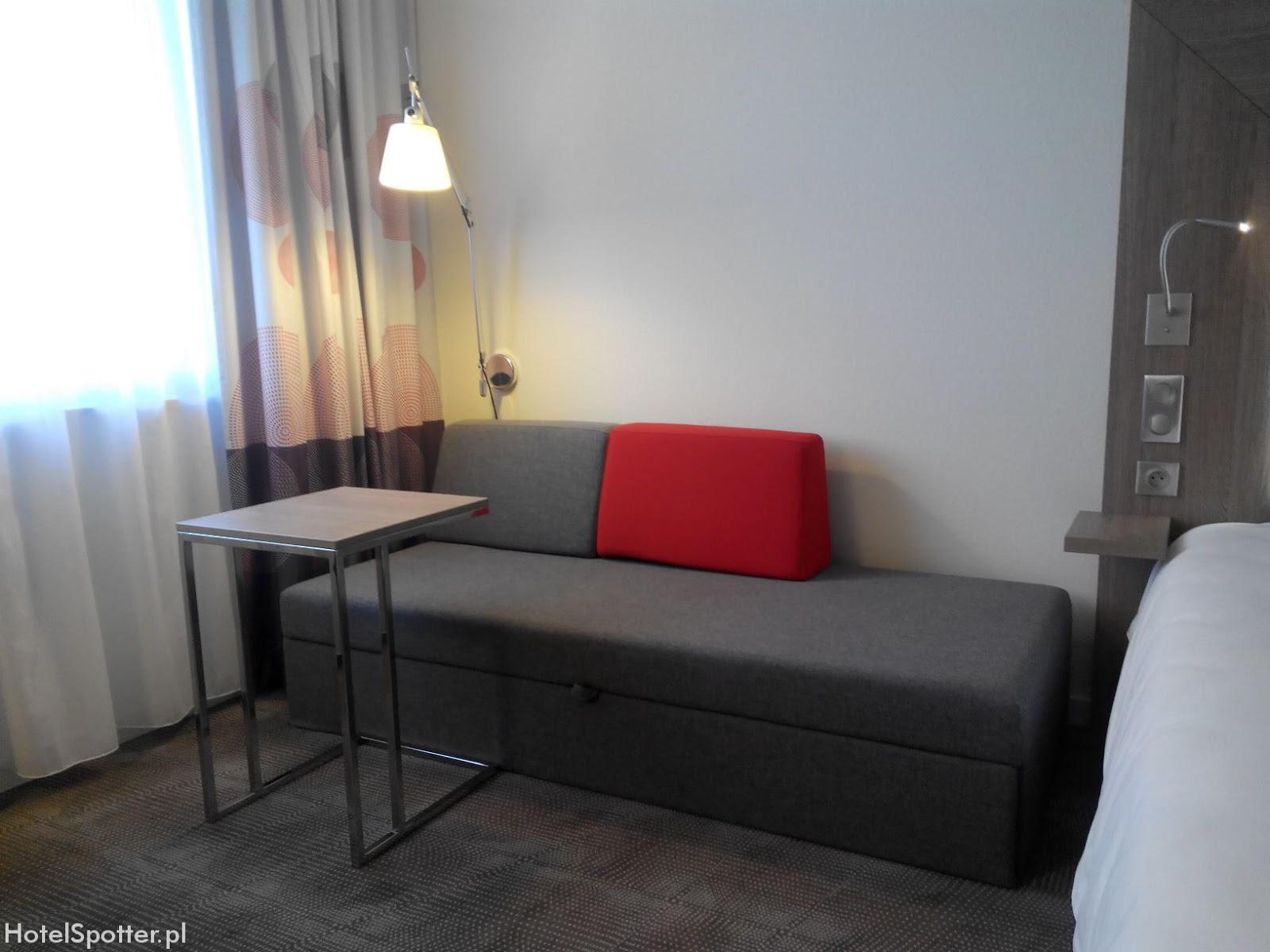 Novotel Krakow Centrum - sofa