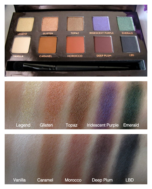 anastasia beverly hills amrezy palette review photos swatches