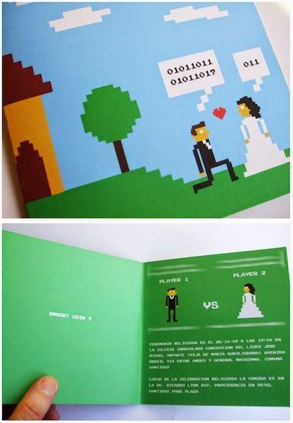 15 convites de casamento diferentes, criativos e lindos!