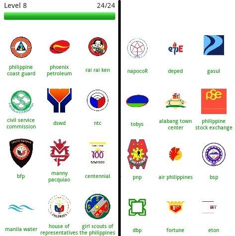 Logo Quiz Philippines Level 8