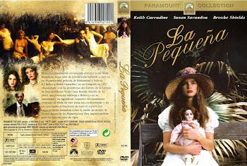 Carátula dvd: La pequeña (1978) (Pretty Baby)