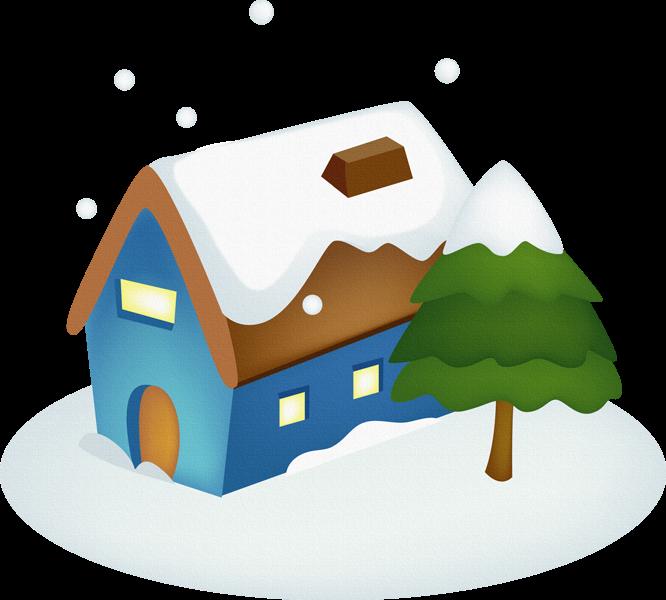 Colecci n de gifs im genes de casas navide as para decorar - Figuras navidenas para decorar ...