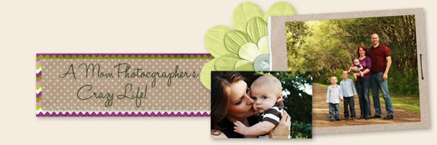 A Mom/Photographer's Crazy Life!!!