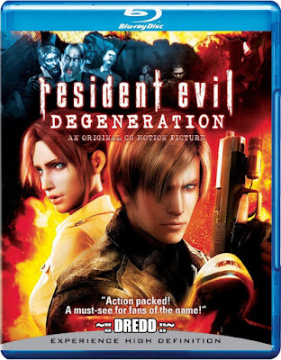 Resident Evil Degeneration 2008 Dual Audio 720p BRRip 800Mb x264