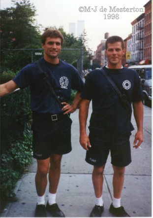 Two Firemen Who Survived the Twin Towers
