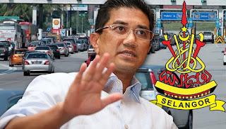 Selangor bantah kenaikan tol