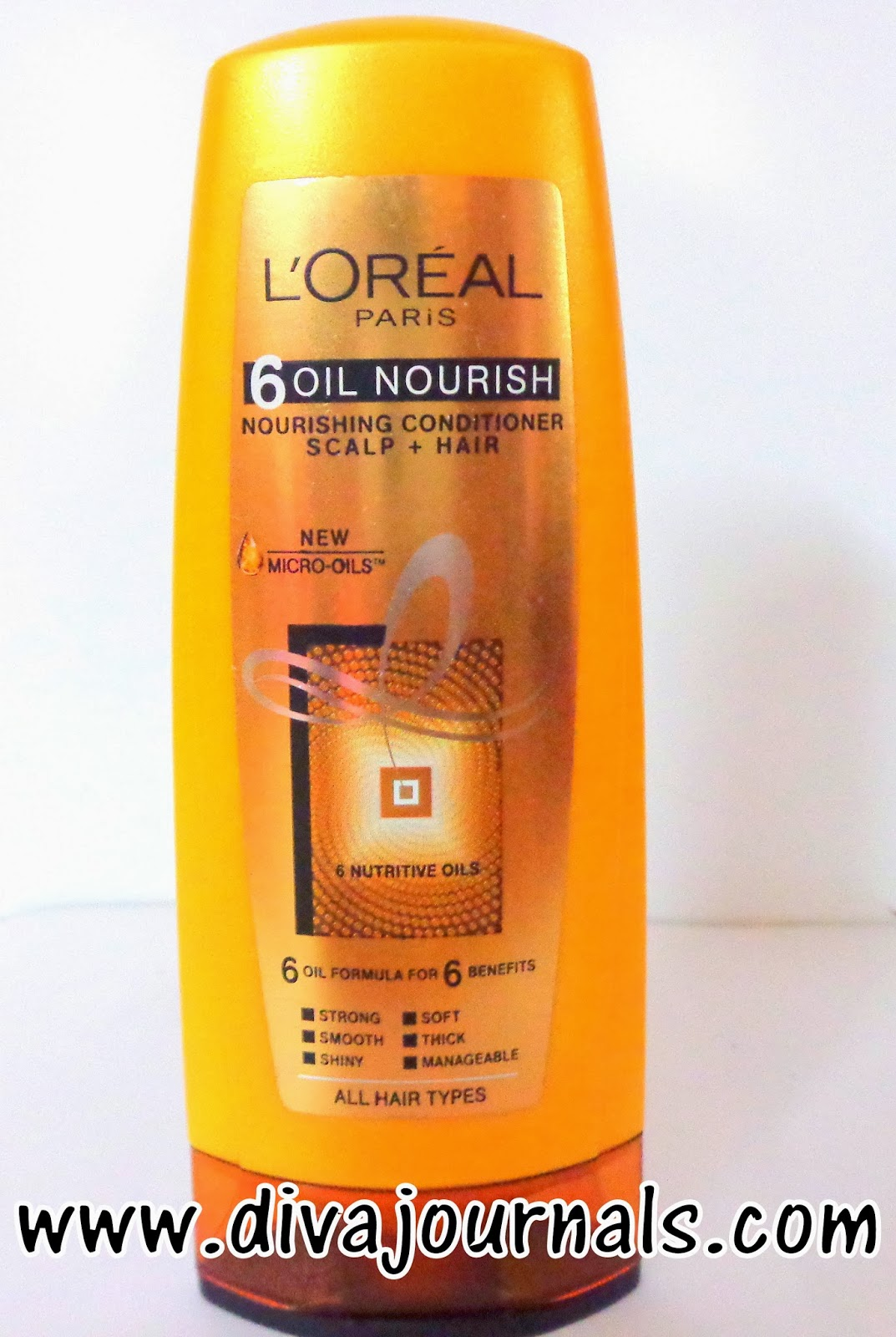 Loreal Paris 6 Oil Nourishing Shampoo&Conditioner Review