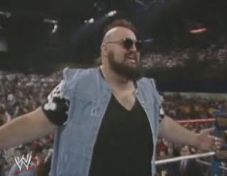 WWF / WWE WRESTLEMANIA 4: One Man Gang is happy with getting a bye to the semi-final
