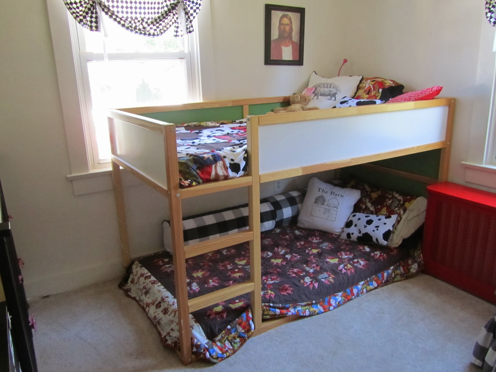 freestyle homemaking kids cowboy farm theme bedroom