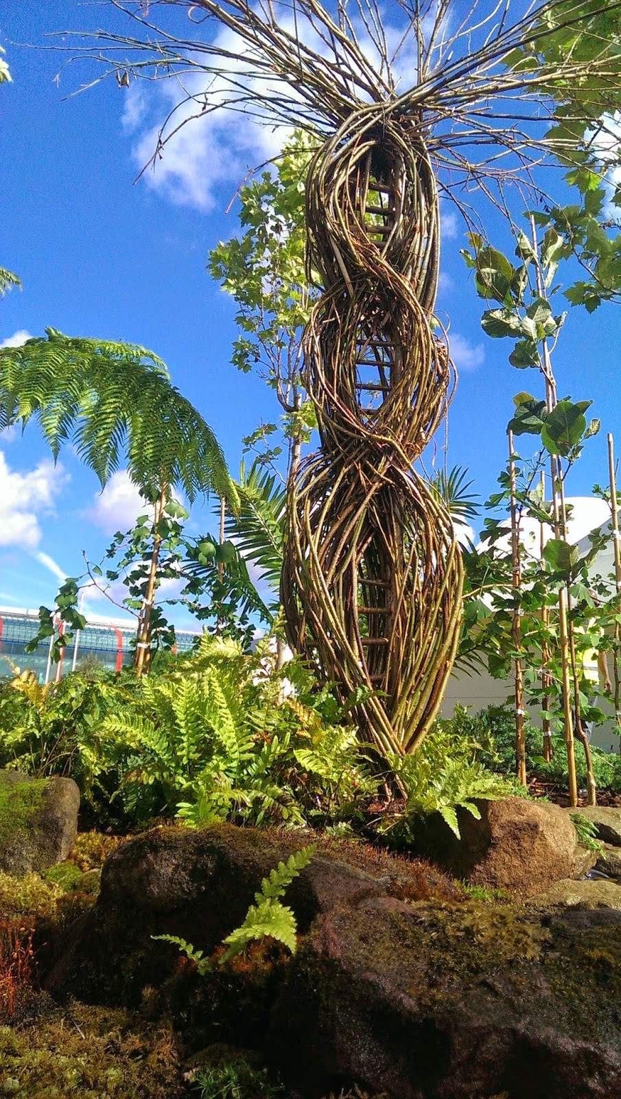 My sculpture for the birmingham botanical gardens