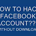 How To Hack Facebook Password Without Any Softwares