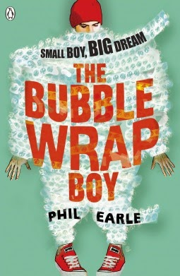 The Bubble Wrap Boy by Phil Earle review at Death, Books, and Tea