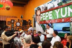 El enemigo a vencer es la pobreza: Pepe Yunes