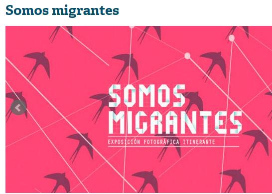 EXPOSICIÓN: Somos migrantes