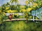 "PATRICIA ANN WILSON  ""Gold Nugget"" Coral Seas Gardens, Negril"