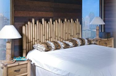 affordable bamboo headboard