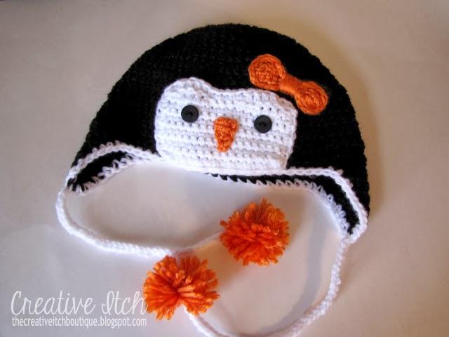 Creative Itch Crochet Penguin Hat