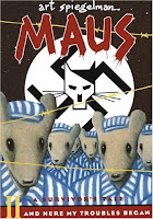 Cover of Maus II by Art Spiegelman