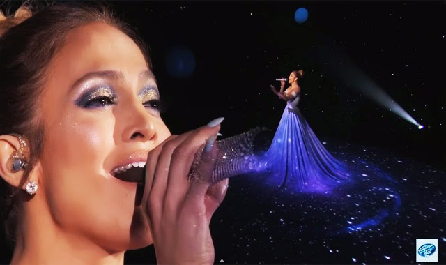 Jennifer Lopez Performance Wearing Dress You've Never Seen Before