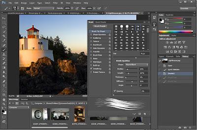 خصائص برنامج photoshop cs6