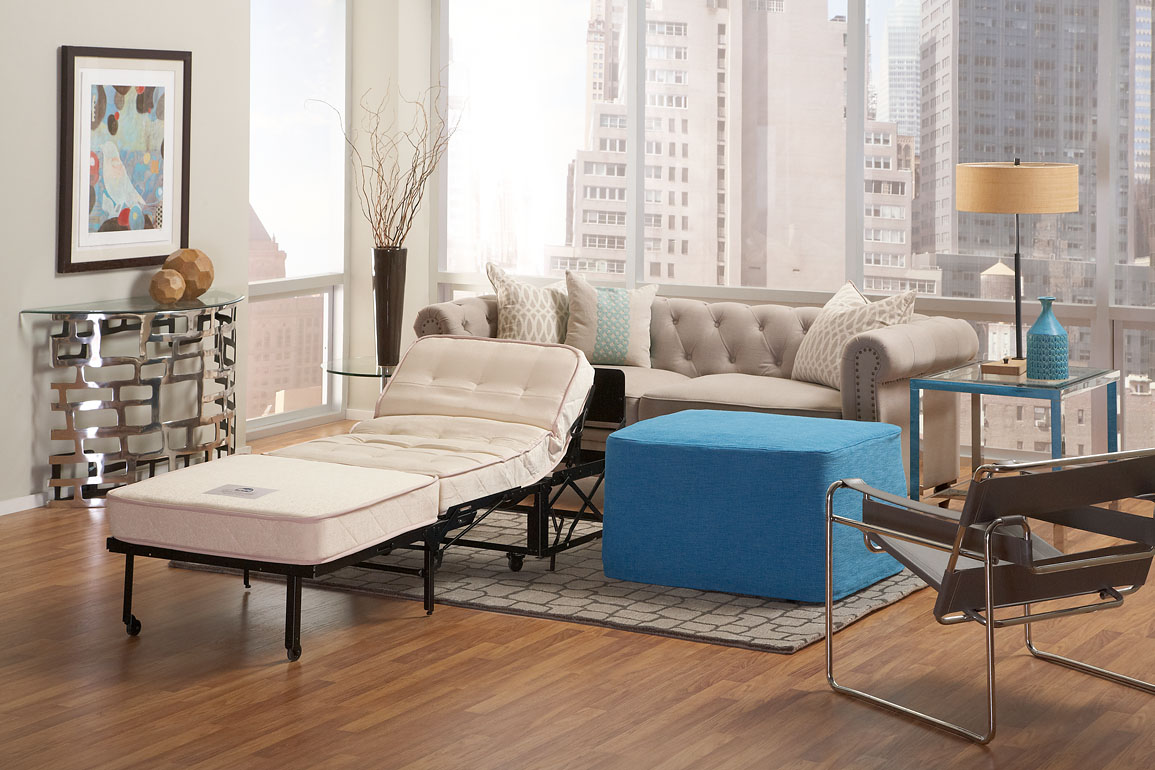 Captivating Castro Convertibles Ottoman | A 3 In 1 Addition For The Home