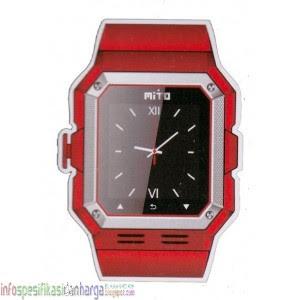 Spesifikasi Mito S500 Jam Tangan Hp Terbaru 2012