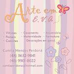 Camila Perdoná- Arte em E.V.A