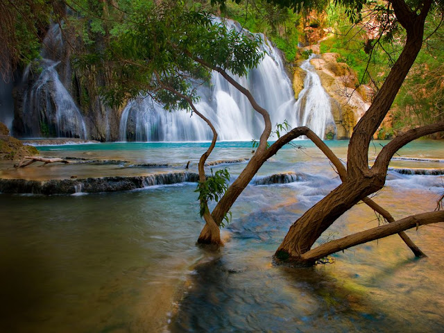 Havasu Creek Waterfall, Arizona