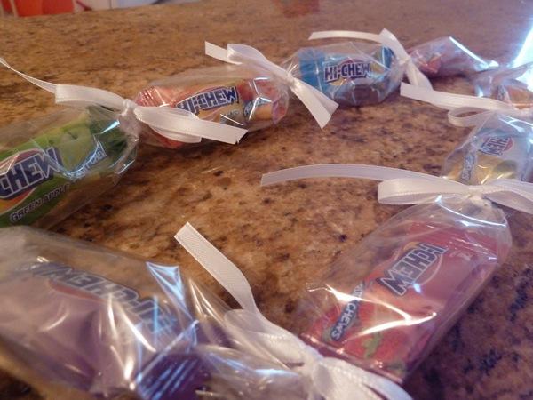 diy candy lei hi-chew