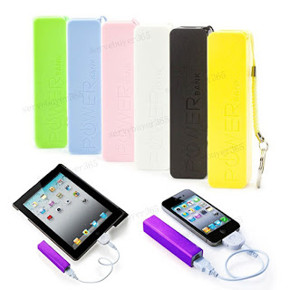Mini Portable Mobile Power Bank USB Charger for Apple iPhone 5/4 Samsung HTC etc