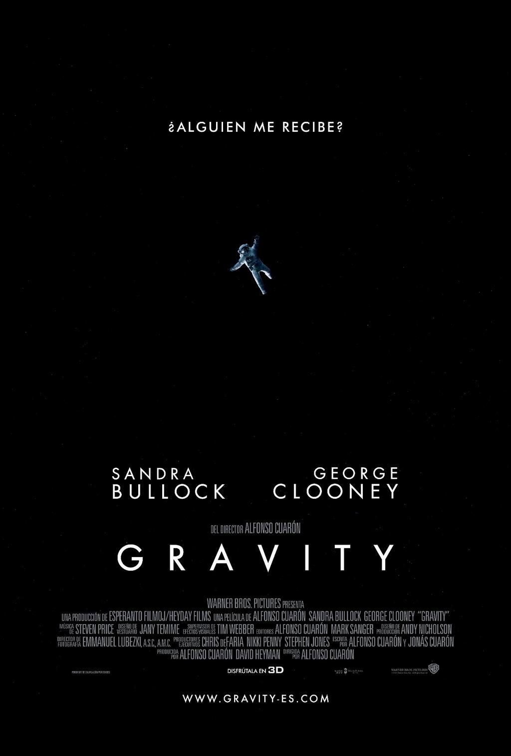 Ultimas pelis que has visto - Página 6 Gravity