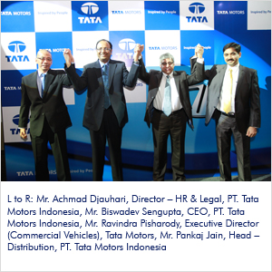 Tata Motors, India's largest automobile company, enters Indonesia