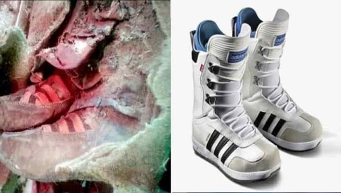 Μυστήριο με μούμια που φοράει adidas… Χρονοταξιδιώτης ή κάτι άλλο;
