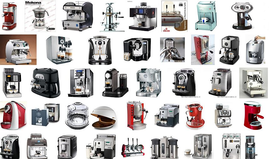 Macchine da caffè espresso e a cialde