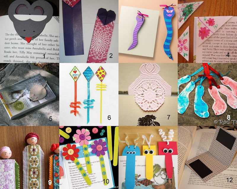 Having fun at home bookmark craft ideas for Home craft business ideas