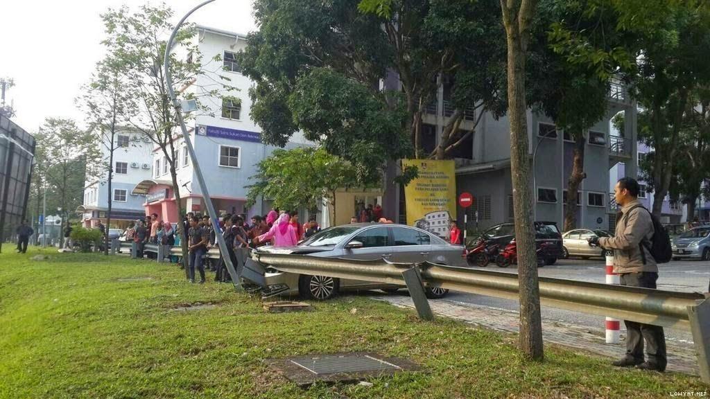 TERKINI Pelajar UiTM Shah Alam Maut Dilanggar Kereta Dalam Kampus