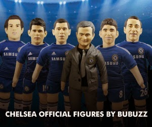 Bubuzz Dolls - Official Chelsea Football Figures