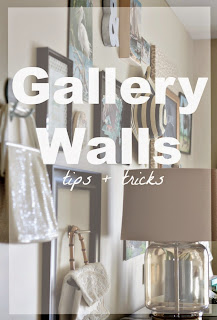 gallery walls tips & tricks