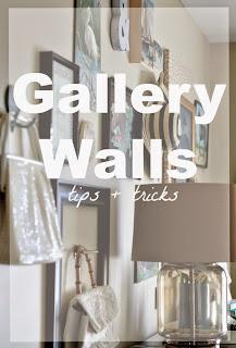 gallery walls tips & tricks