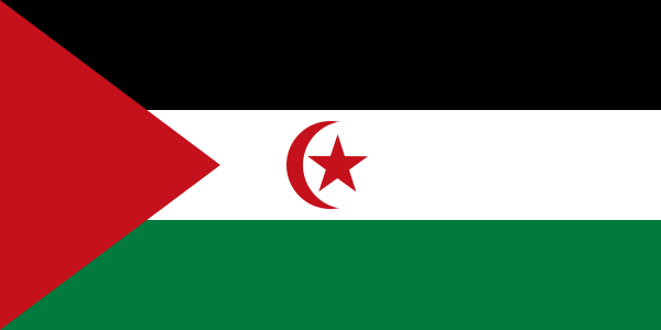 Bandera de Sahara Occidental