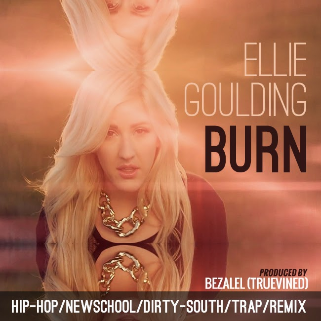 Ellie Goulding - Burn remix artwork