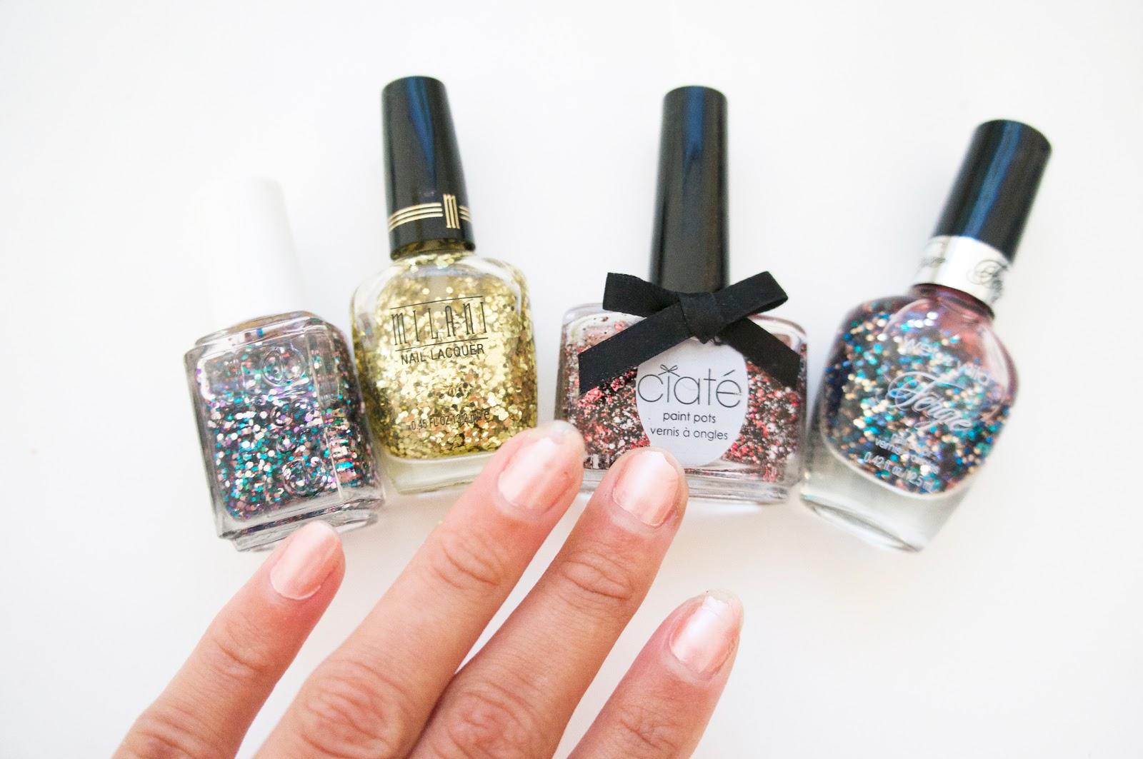 Nail Fix: Glitter Tips! – Nikia Phoenix