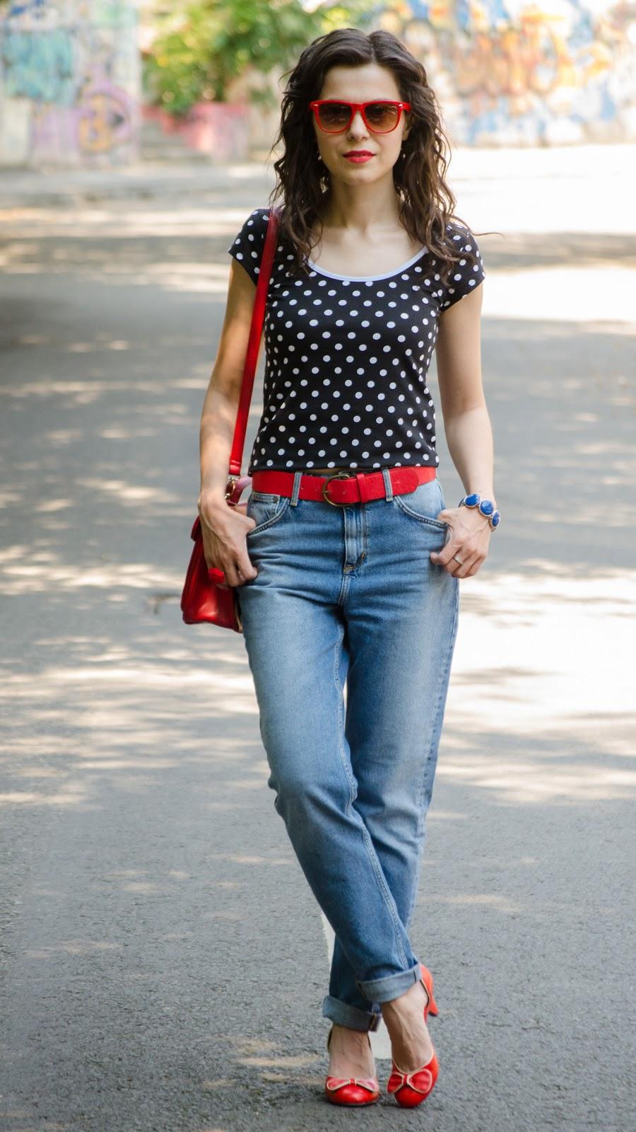 Miss Green Retro mom jeans u0026 the urban jungle
