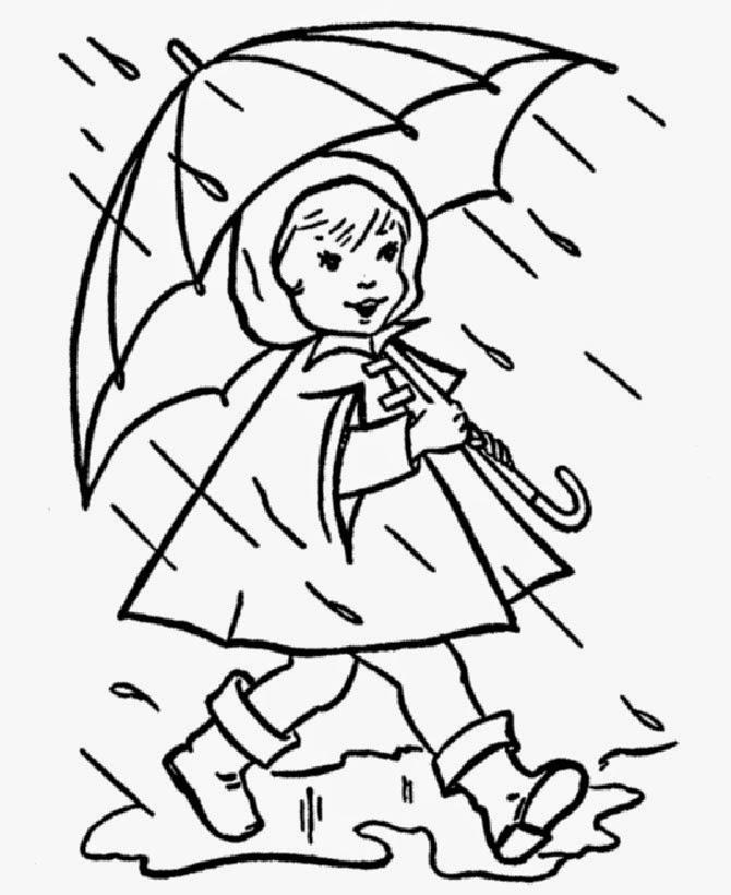 Картинки про детей осенью